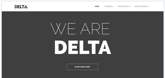 delta joomla template