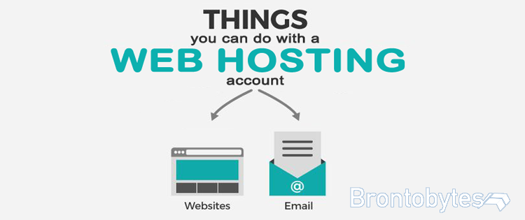 web hosting infographics