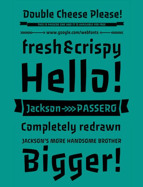 bebas tam pro font best free fonts 2015 - 2016